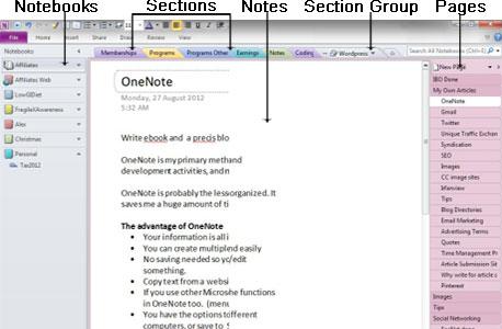 onenote notebook