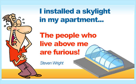 Picture Quote - skylight