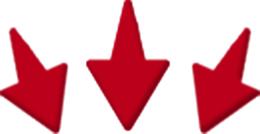 Arrows to draw eye downwards