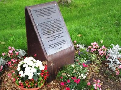 New memorial