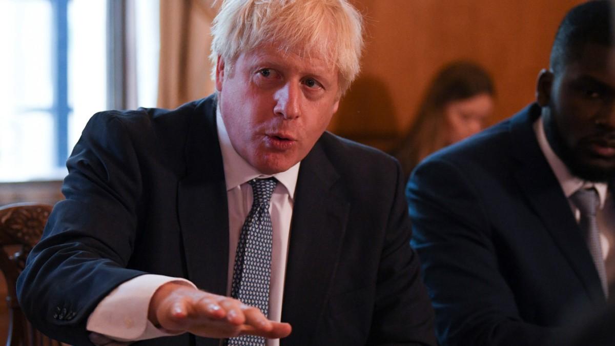 Hat Sich Boris Johnson Verzockt Politik Sz De