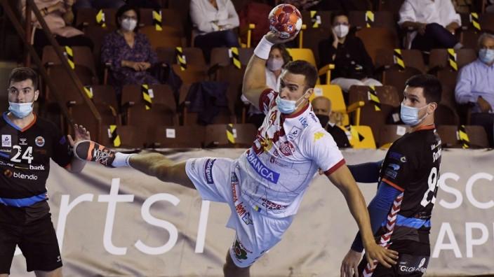 handball spiel mit maske das sind nur