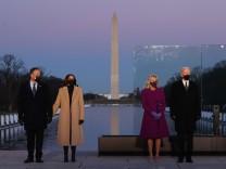 Covid-Gedenkfeier in Washington: Ein Hallelujah für das neue Amerika