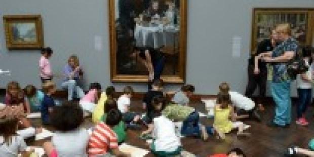 Präsenzunterricht in Museen: Im Schatten großer Meister