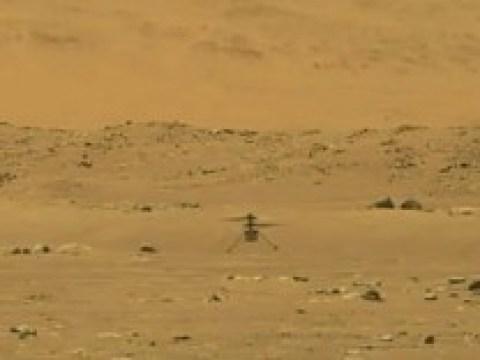 "Perseverance-Mission: Mars-Helikopter ""Ingenuity"" hebt erstmals ab"