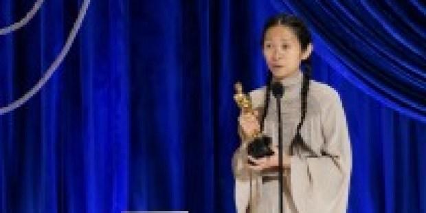 Oscar-Verleihung 2021: Grüße aus der Bahnhofshalle
