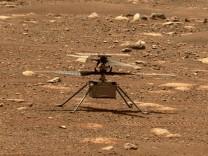 Raumfahrt: Nasa veröffentlicht erste Ton-Aufnahme von Mars-Flug
