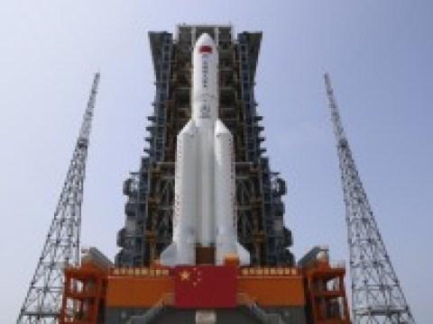 Chinesische Raumfahrt: Raketentrümmer sind ins offene Meer gestürzt