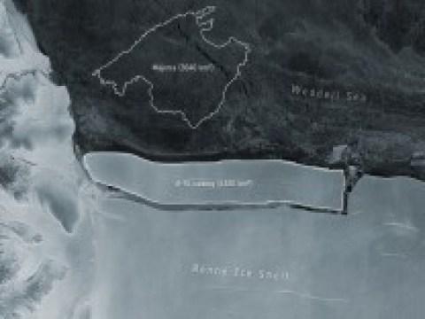Polkappen: Größter Eisberg bricht in der Antarktis ab