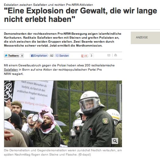 gewaltexplosion