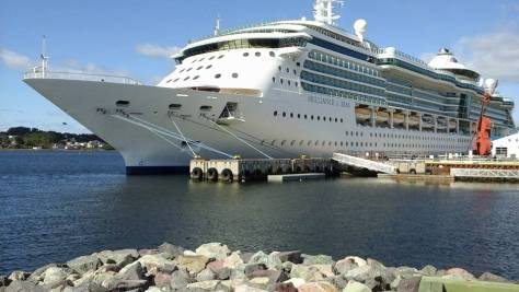 Cruise ship sydney NS