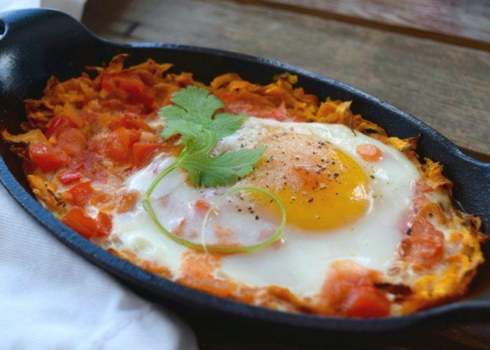 Camote con Huevos (Sweet Potatoes and Eggs)
