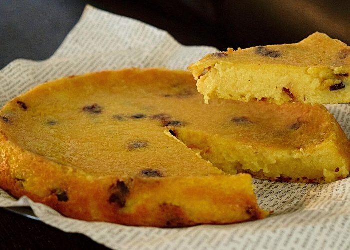 Arepa Dominicana (Dominican Cornmeal Cake)