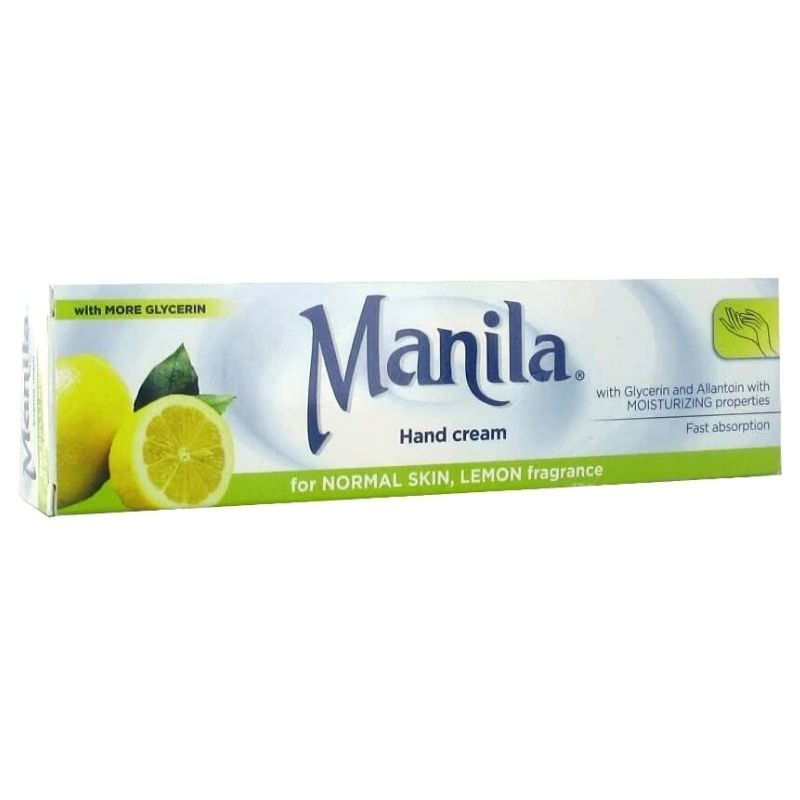 Manila Κρέμα Χεριών με Λεμόνι Λεύκανση Πανάδων 100ml (2)
