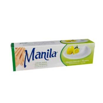 Manila Κρέμα Χεριών με Λεμόνι Λεύκανση Πανάδων 100ml