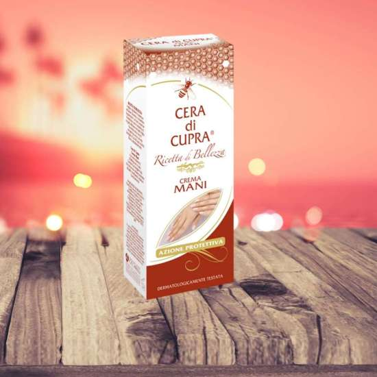 hand cream cera di cupra 75ml