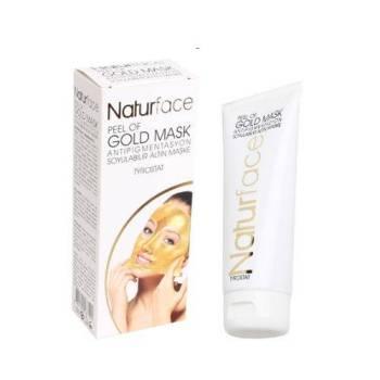 Natureface Peel Off Gold Mask Xρυσή μάσκα Στίγματα και Κηλίδες 100ml