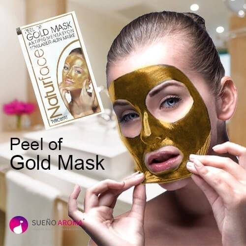 peel of gold mask