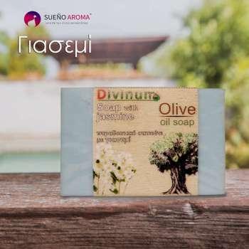 handmade soap jasmine olive oil divinum