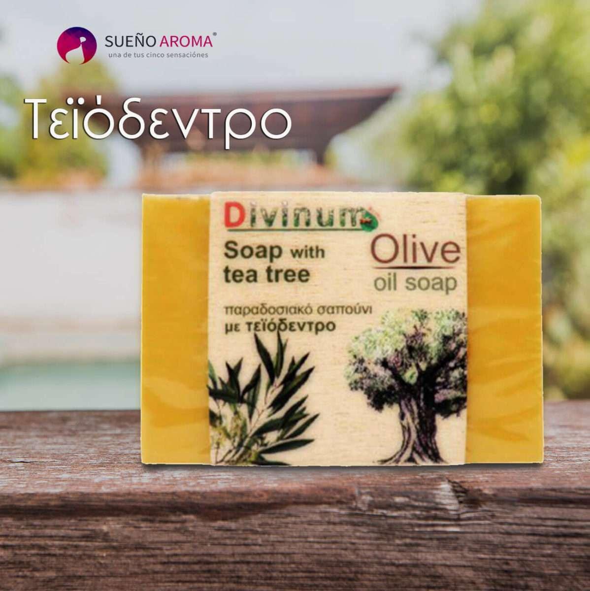 handmade soap olive oil tea tree divinum