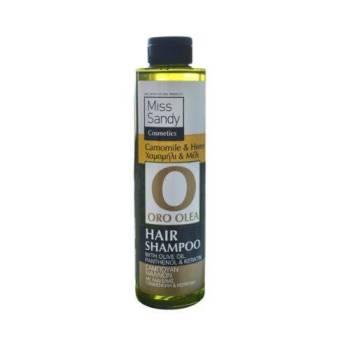 Oro Olea Natural Hair Shampoo Λάδι Ελιάς Χαμομήλι και Μέλι 250ml