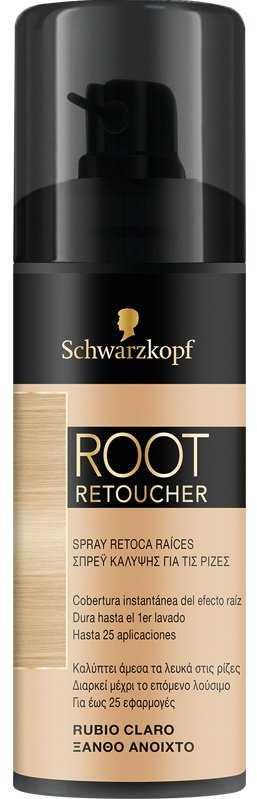 Schwarzkopf Root Retoucher (spray κάλυψης ρίζας) ξανθό ανοιχτό