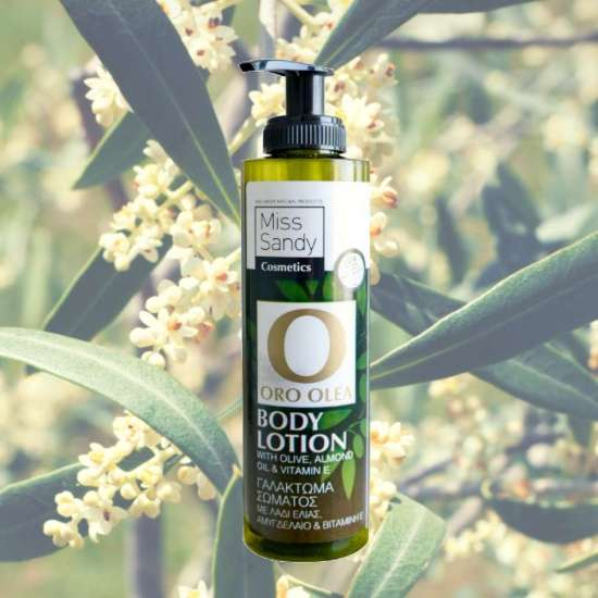 Oro Olea Body Lotion Λάδι Ελιάς, Αμυγδαλέλαιο & Βιταμίνη Ε