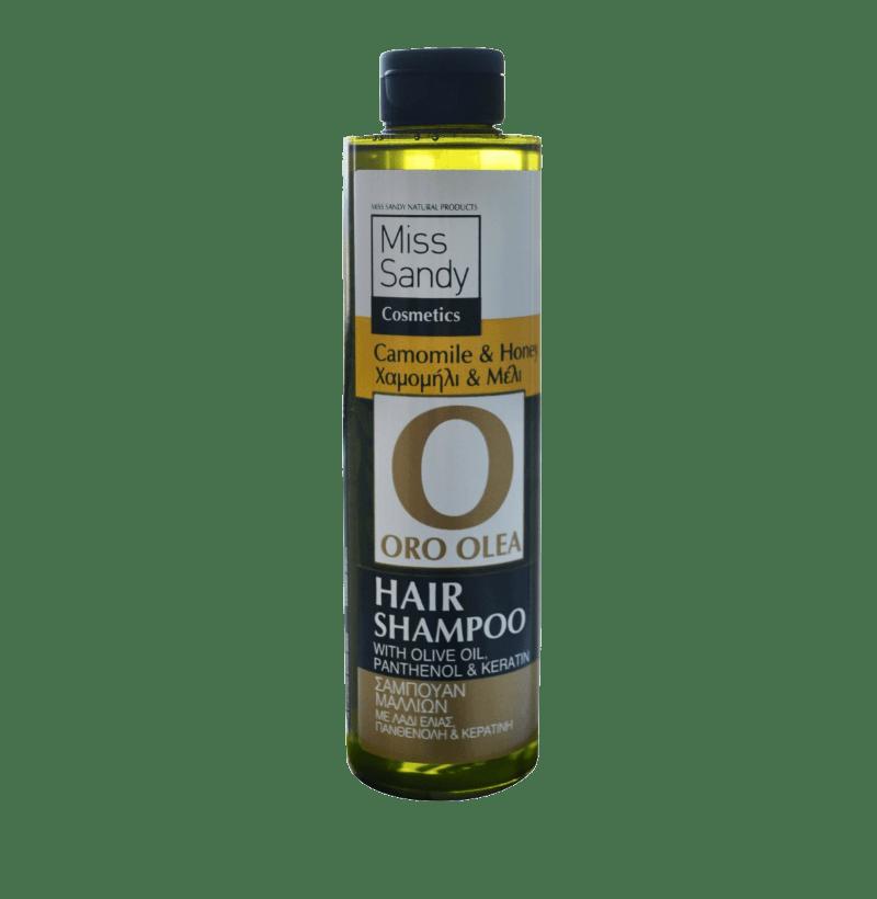 Oro Olea Hair Shampoo Λάδι Ελιάς, χαμομήλι και μέλι