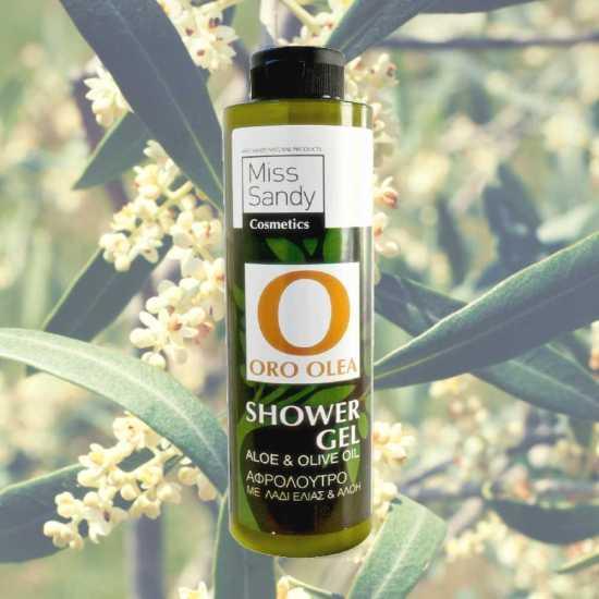olive shower gel oro olea