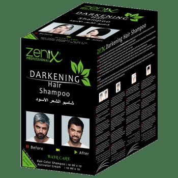 Zenix Darkening Hair Shampoo σε φακελάκι