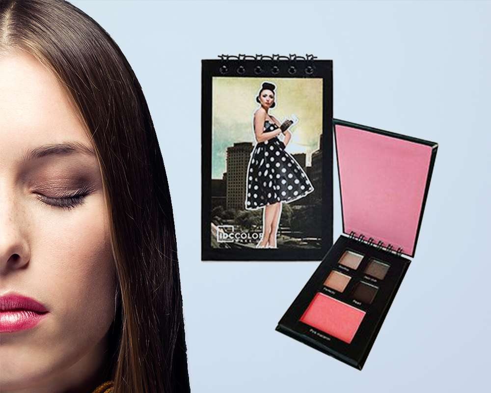 Idc Color Eyeshadow + Blush notebook Smokey