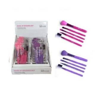 IDC Design Make Up Brushes 5pcs Πινέλα Μακιγιάζ 5τεμ 65gr