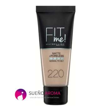 Maybelline Fit Me make up Matte and Poreless foundation 220