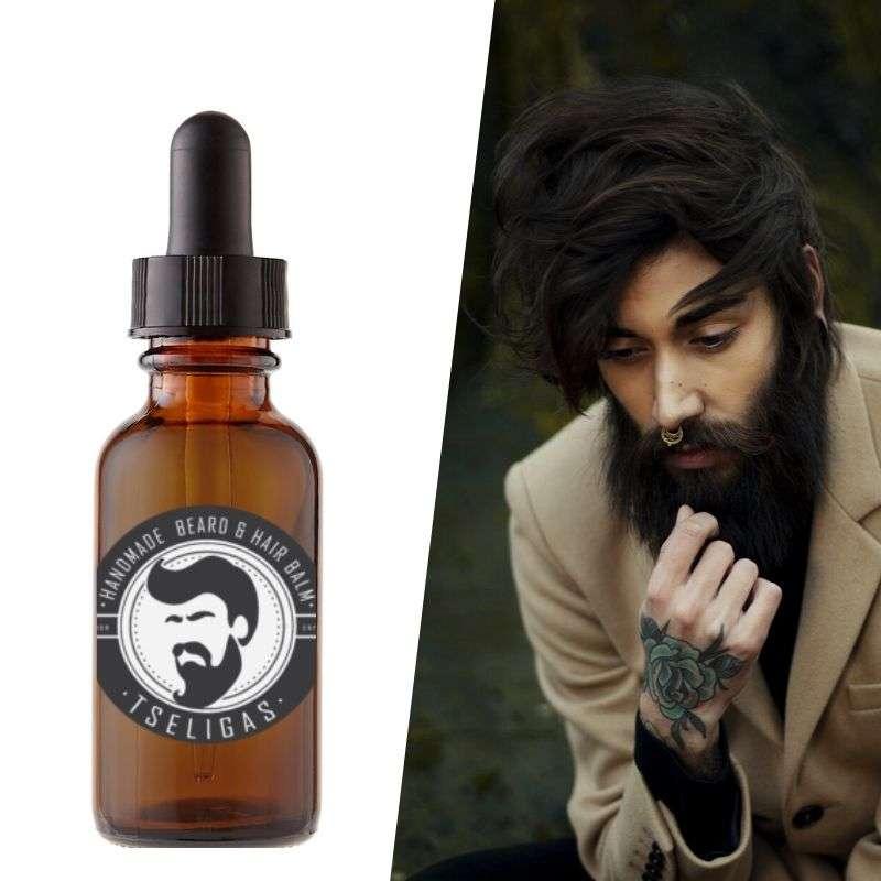 Λάδι Περιποίησης Γενειάδας Tseligas -Beard Oil treatment Tseligas