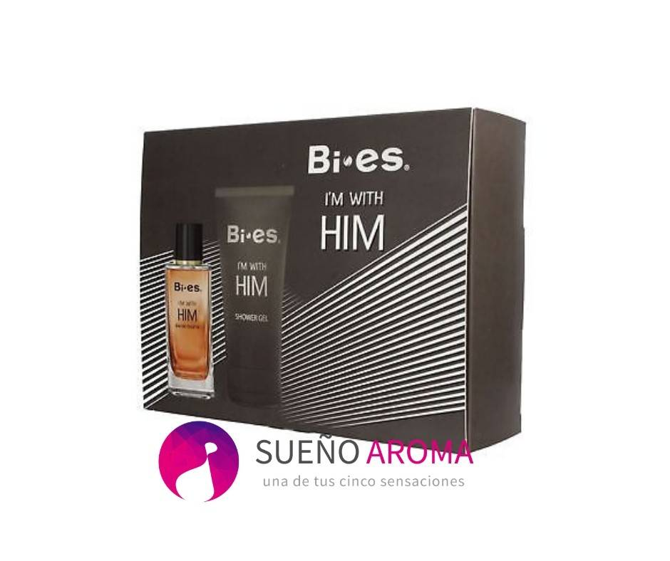Bi • es - I´m With Him Giftset for Men