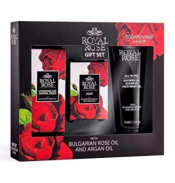 Travel Royal Rose Gift Set for Men - Biofresh