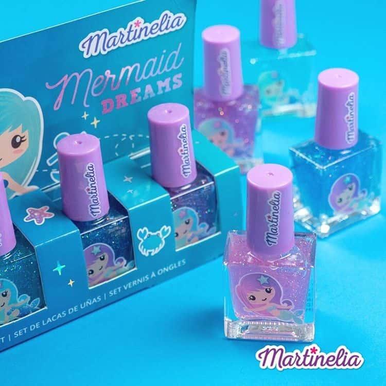 Παιδικά Βερνίκια MARTINELIA Mermaid Dreams