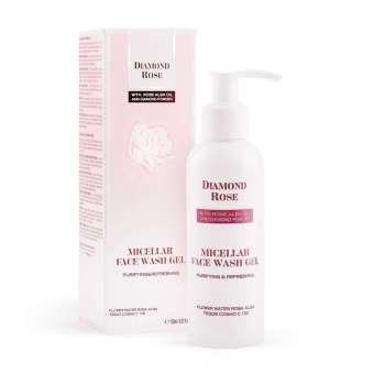 Καθαριστικό Προσώπου Micellar face wash gel Diamond Rose - Biofresh