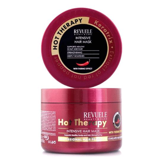 Μάσκα Μαλλιών REVUELE Hot Therapy με Thermo Effect