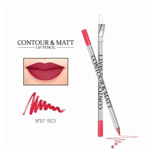 Μολύβι χειλιών με ξύστρα Revers CONTOUR & MATT - Red