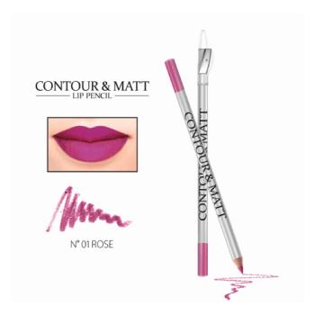 Μολύβι χειλιών με ξύστρα Revers CONTOUR & MATT - Rose