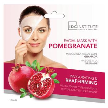 IDC Institute Συσφικτική μάσκα προσώπου σε πανί με Ρόδι 22gr