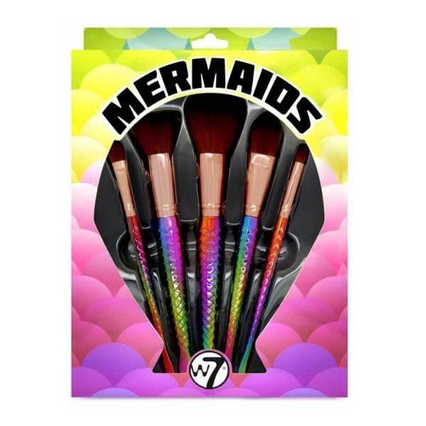 W7 Mermaids Brush Set 5 TΕΜ