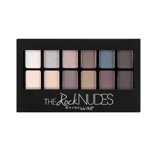 Maybelline The Rock Nudes Eyeshadow Palette 12 Σκιές