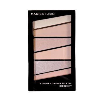 Παλέτα Μακιγιάζ Contour 6 Colors Magic Studio IDC - Nude