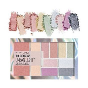 Maybelline The City Kits Urban Light Palette Σκιές & Ρουζ