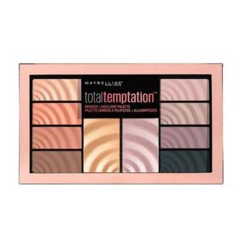Maybelline Total Temptation Palette Σκιές & Highlighter