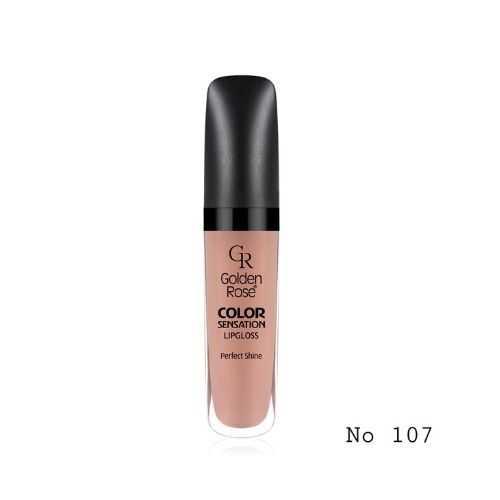 Color Sensation Lipgloss Golden Rose No 107