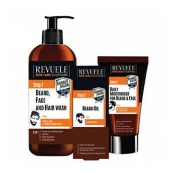 Revuele Men Care Σετ Περιποίησης Γενειάδας, Προσώπου και Μαλλιών