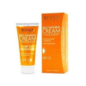Revuele Self Tanning Cream Στιγμιαίο Μαύρισμα Πρόσωπο & Σώμα Fair